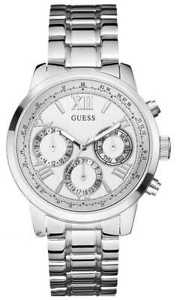 【送料無料】guess sunrise ladies w0330l3 watch 18