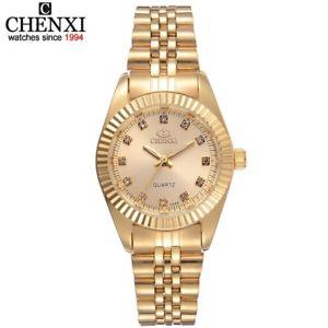 【送料無料】chenxi brand top luxury ladies gold watches xmas gifts for her wife female women