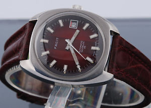 great very big automatic swiss facit watch 25 jewels with calendar *cal 2783