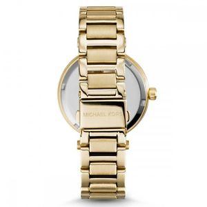 michael kors mk6065 ladies gold skylar watch  2 years warranty