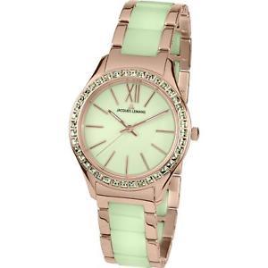 【送料無料】jacques lemans womens rome 37mm steel bracelet amp; case quartz watch 11797n