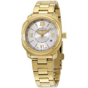 【送料無料】wenger womens 34mm steel bracelet amp; case swiss quartz watch 011121113