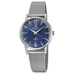 【送料無料】moda orologio festina extra vintage 1948 donna acciaio solo tempo f202583