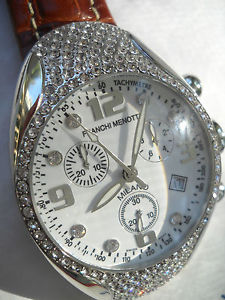 franchi menotti melano swiss chrono crystal quartz watch italian design