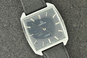 【送料無料】vintage mens certina jubile wristwatch ref 4002184 keeping time