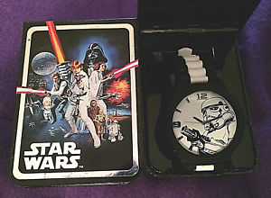 star wars stormtrooper watch in gift box by accutime stm1100