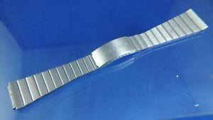 【送料無料】vintage certina watch bracelet nos circa 1970s , mint , 195mm st steel