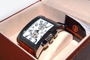【送料無料】orologio cronografo nazareno gabrielli nuovo mai usato confezione originale