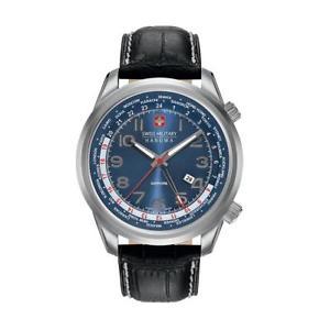 【送料無料】swiss military accessori uomo orologio nero 89079 bdt