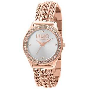 【送料無料】orologio bracciale da donna liu jo luxury collezione atena tlj935 oro rosa