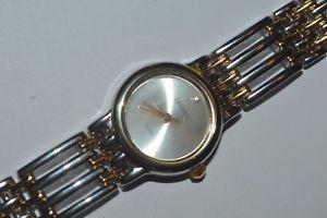 geneva quartz watch ladies swiss movement seven amp; half inch strap lightly used