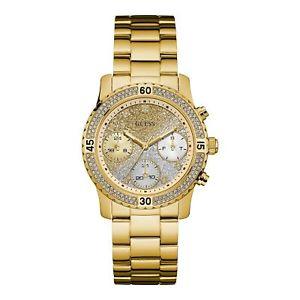【送料無料】guess w0774l5 womens confetti wristwatch