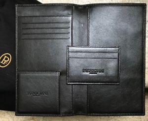 【送料無料】parmigiani fleurier leather passport card holder wallet