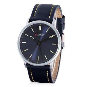ds orologio da polso curren 8233 uomo analogico quarzo moderno fashion blu lac