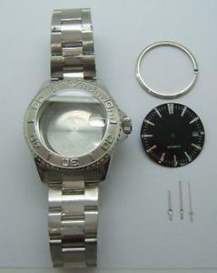 【送料無料】boitier explorer avec bracelet cadran aiguille pour valjoux eta 28242