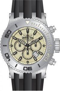 【送料無料】 mens invicta 24250 subaqua chronograph silicone strap watch
