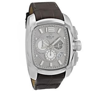 【送料無料】metalch chronometrie club series mens chronograph swiss made watch 513247