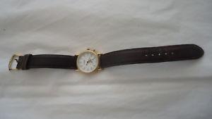 【送料無料】vintage movado womens heritage series gold ionplated watch 408276preowned