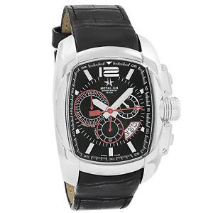 【送料無料】metalch chronometrie club series mens chronograph swiss made watch 512047