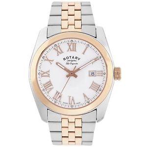 【送料無料】neues angebotrotary gb9011101 lausanne two tone wristwatch