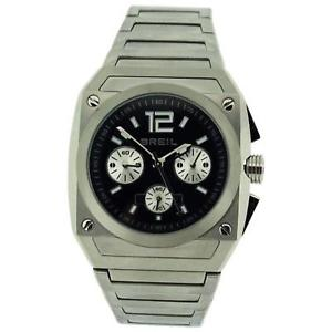 【送料無料】breil mens analogue chronograph all stainless steel bracelet strap watch tw0689