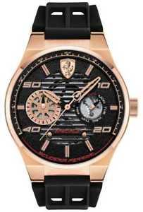 【送料無料】scuderia ferrari speciale rose gold 0830458 watch 20