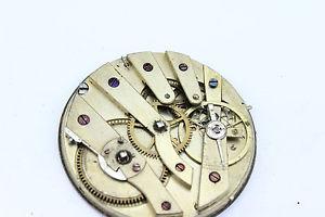 mouvement montre de poche,  env 40 mm, balancier ok,  d1041