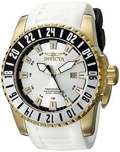 【送料無料】invicta mens pro diver analog display swiss quartz white watch 19683