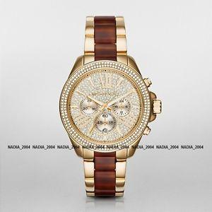 【送料無料】michael kors mk6294 wren chronograph watch, brand with mk case