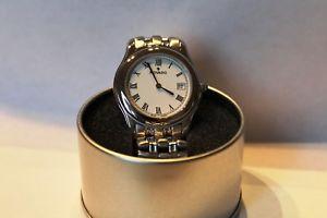 【送料無料】authentic rare mens movado 84e70895 swiss ss wrist watch quartz