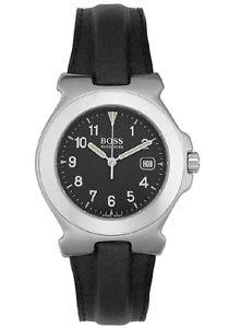 【送料無料】ladys hugo boss leather strap watch ret895 brand