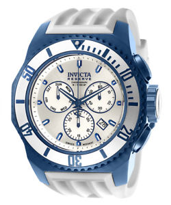 invicta mens russian diver chrono 100m stainless steel silicone watch 25733