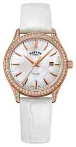 【送料無料】rotary womens oxford leather strap rose gold ls0509641 watch 20