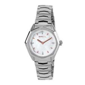 moda orologio breil eight donna solo tempo bianco  tw1702