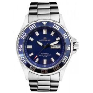 【送料無料】orologio automatico lorenz diver lz017695bb 17695bb listino 41900 man watch