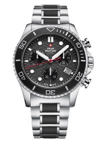 【送料無料】quartz chronographs swiss military by chrono