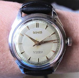 【送料無料】gents 1940s swiss ss damas 17j felsa 690 bidynator automatic watch prof serviced