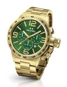 【送料無料】tw steel cb223 mens gold 45mm canteen watch 2 years warranty
