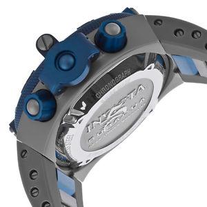 invicta mens subaqua analog display swiss quartz grey watch 17207
