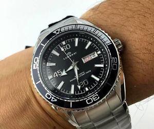 【送料無料】orologio lorenz automatico 10100aa meccanico 21 jewels miyota corona vite watch