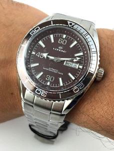 【送料無料】orologio lorenz automatico 10100hh meccanico 21 jewels miyota corona vite watch