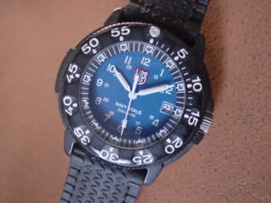 【送料無料】vintage luminox military wrist watch navy seals