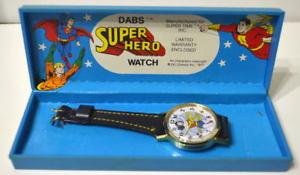 【送料無料】wonder woman ladies dabs amp; co wrist watch vintage 1977 dc