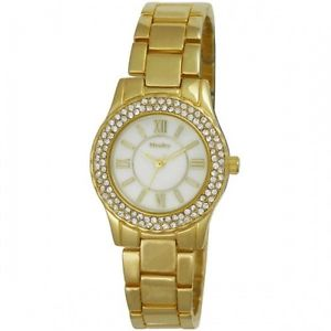ladies henley stainless steel crystal watch h0723514  h072352