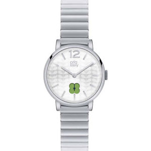 【送料無料】orla kiely frankie ladies stainless steel bracelet watch ok4003oknp