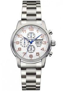 【送料無料】ingersoll mens mount chronograph watch inq018whsl