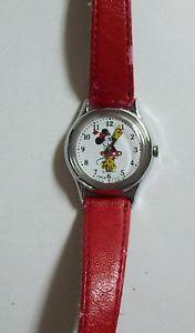 【送料無料】lorus red minnie mouse watch