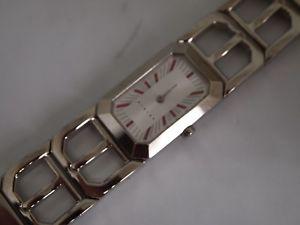 sisley model 735 ladies steel amp; leather watch  brand  for christmas