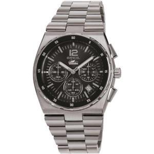 【送料無料】orologio uomo breil manta sport tw1639 chrono bracciale acciaio nero sub 100mt