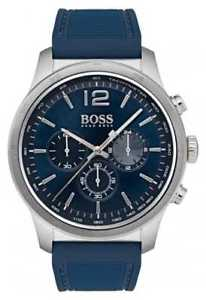 【送料無料】hugo boss mens professional chronograph blue 1513526 watch 19